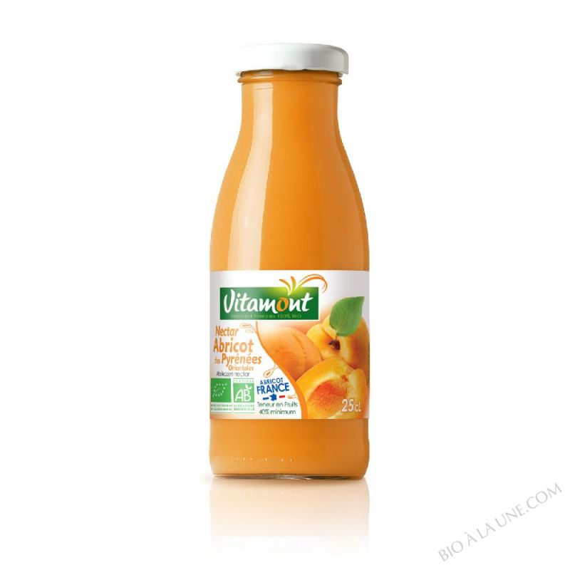 Mini Nectar d'Abricots Bio 25cL