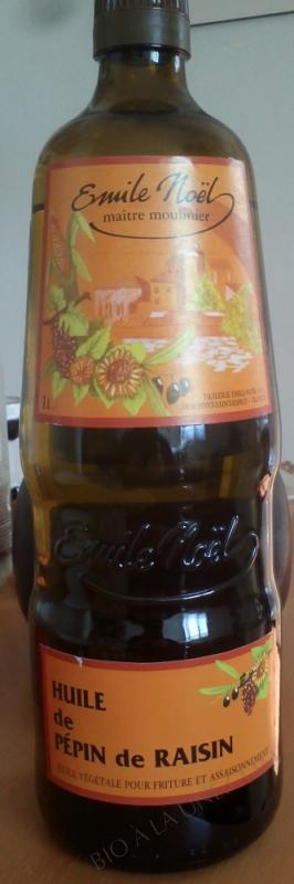 Huile de pépin de raisin raffinée - 1L