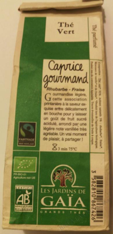 Thé Vert Caprice Gourmand