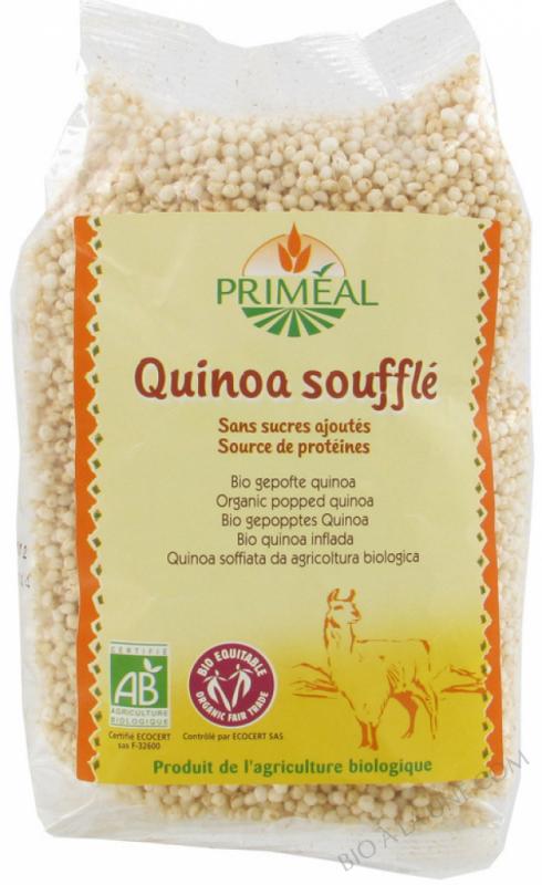 quinoa soufflé - 100 g