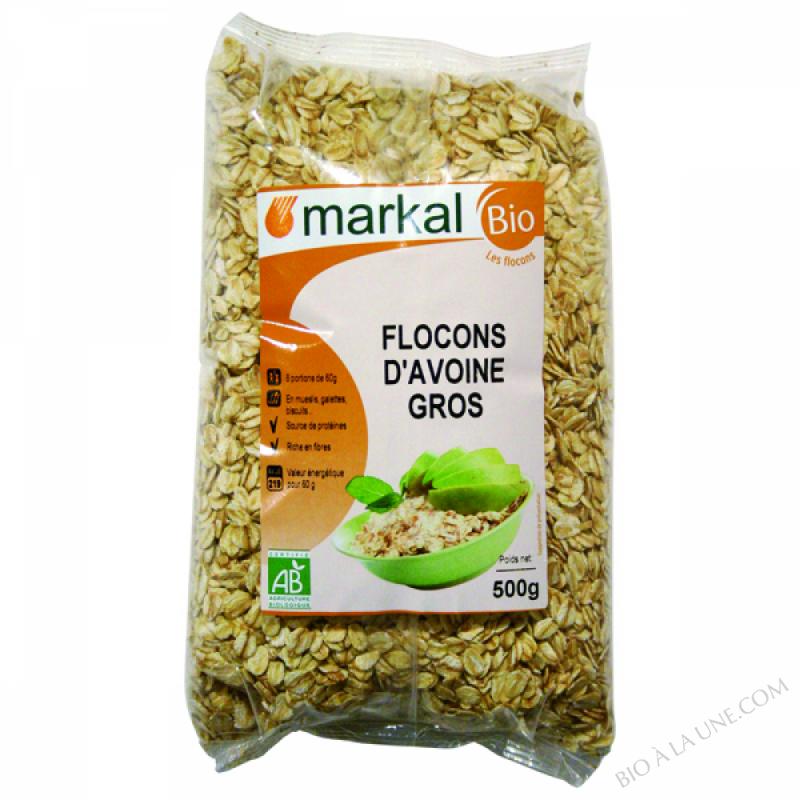 Flocons d'Avoine Gros 500g