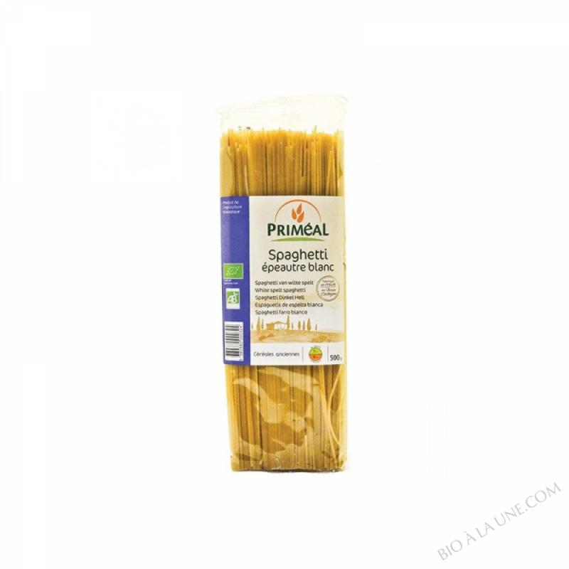 Spaghettis blancs à l'epeautre
