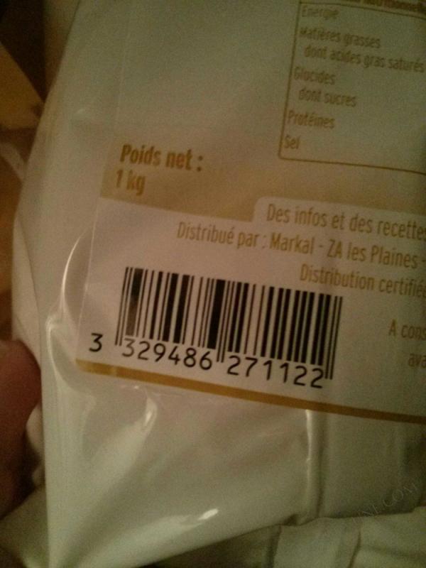 Farine de Ble T65 - 1kg
