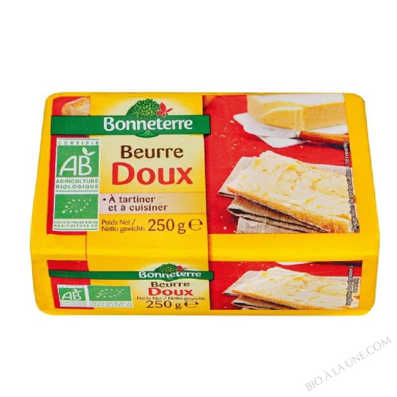 BEURRE DOUX (ORIGINE FRANCE) - 250G
