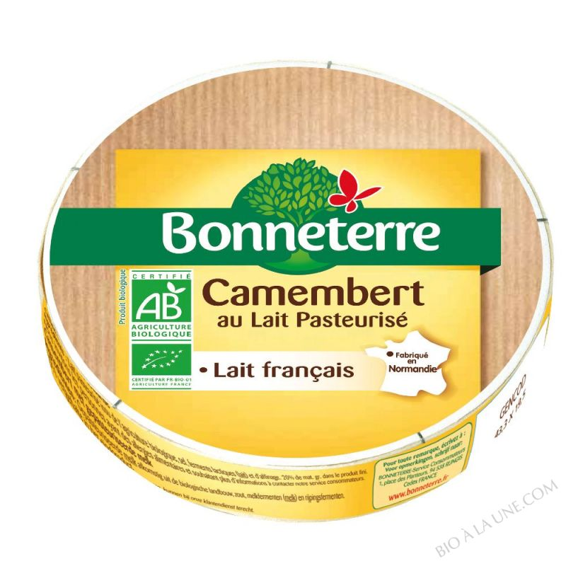 CAMEMBERT LAIT PASTEURISE - 250 G