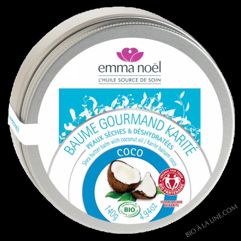 Baume Gourmand Karite Coco bio - 140g
