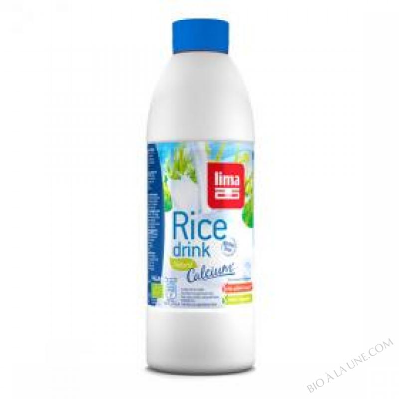 Lait de Riz Natural Calcium 1L