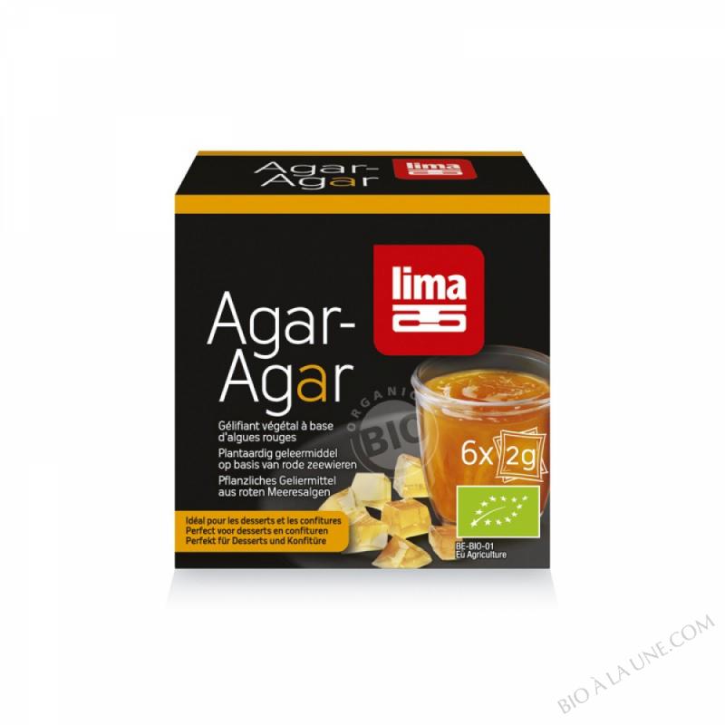 Agar agar (doses) - 6x2g