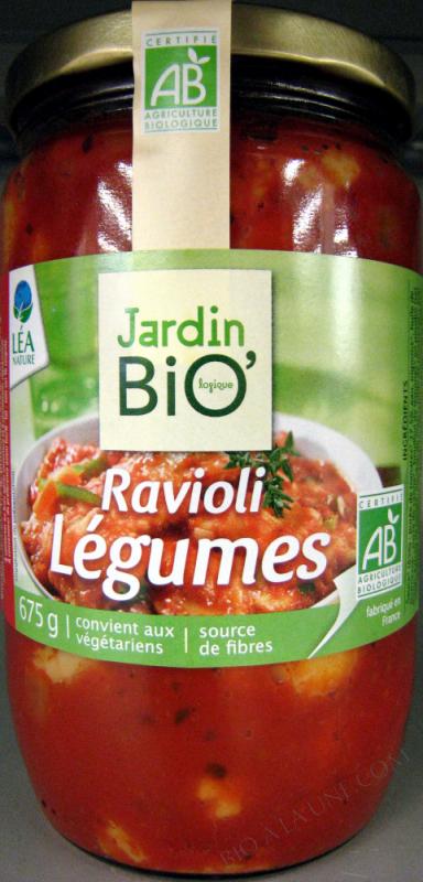 RAVIOLI LEGUMES 675GR