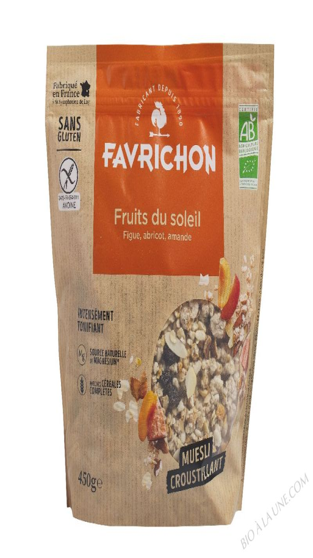 MUESLI CROUSTILLANT FRUITS DU SOLEIL  - 450g
