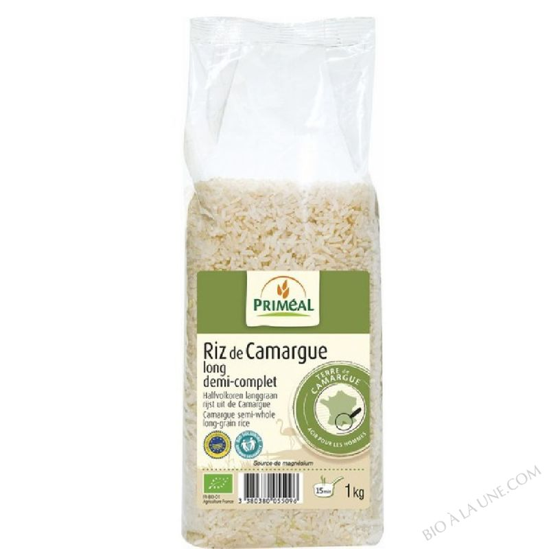 Riz Long 1/2 Complet Camargue 1kg