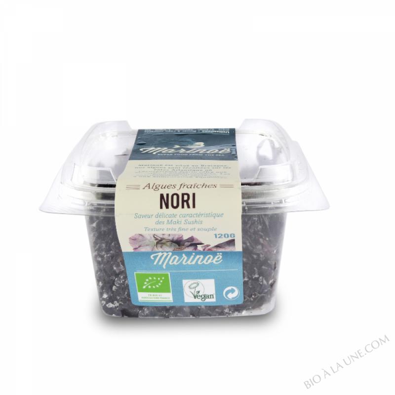 Nori - Algues fraîches - Marinoë