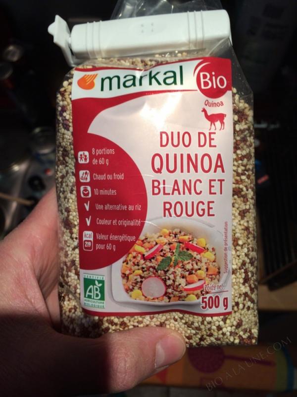 Duo de quinoa rouge et blanc - 500g