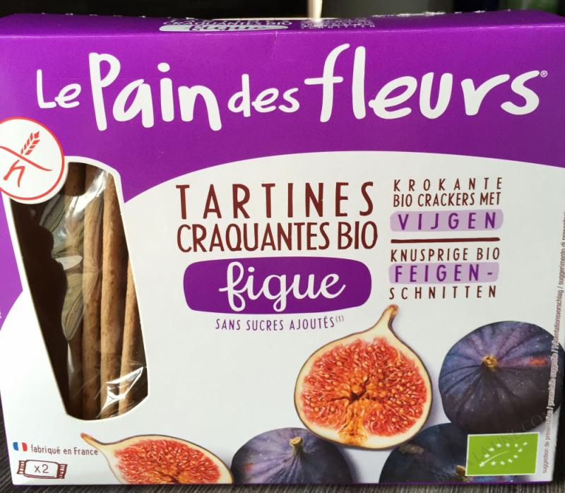 Tartines craquantes à la figue - 150g