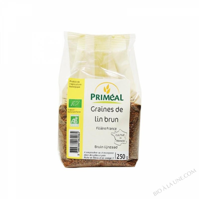 Graines de Lin Brun Origine France 250 g