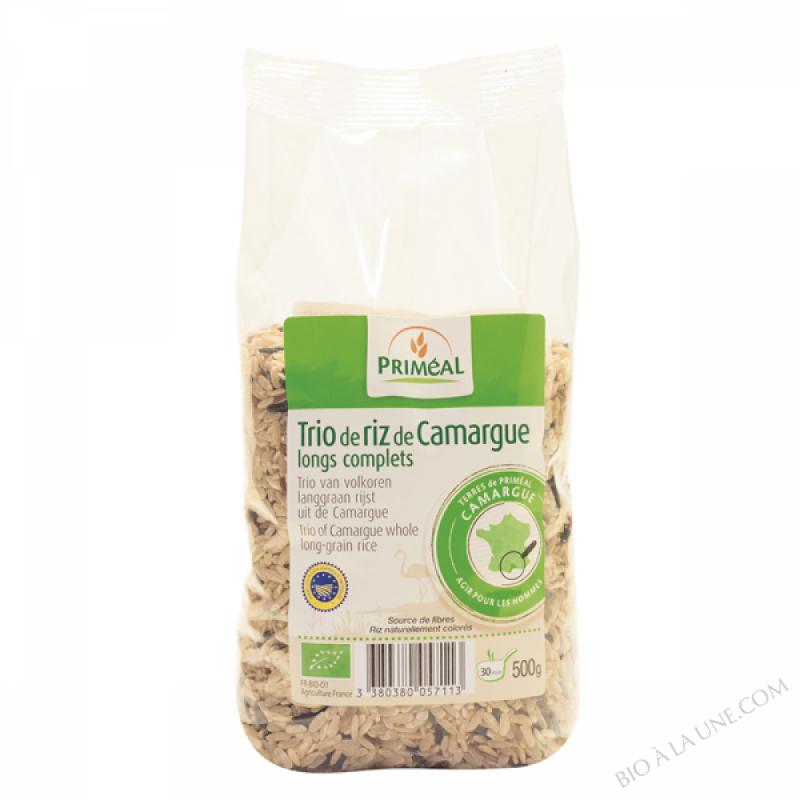 Trio de riz de Camargue 500g