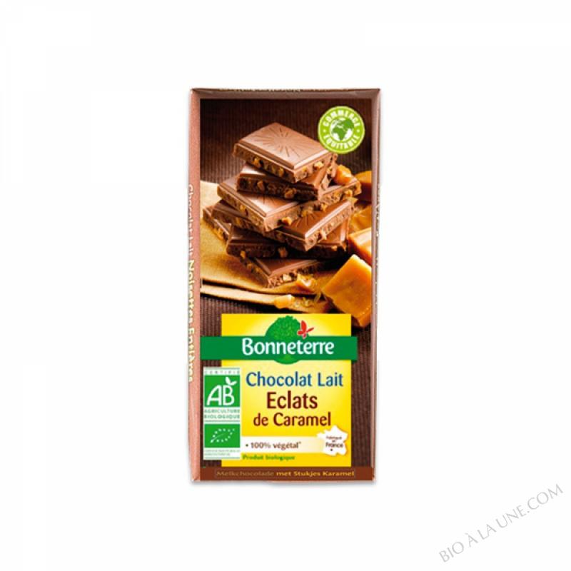 Chocolat Lait Eclats De Caramel 100gr