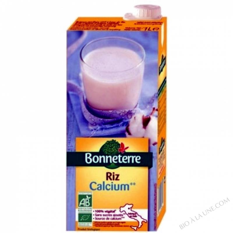 BOISSON RIZ CALCIUM - 1 L