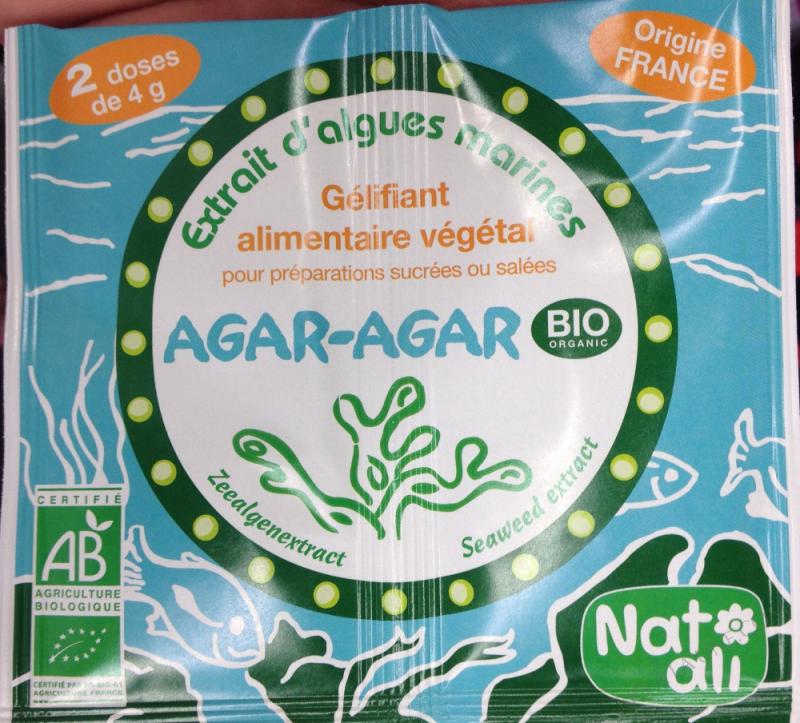 Agar-agar Bio 2 x 4g