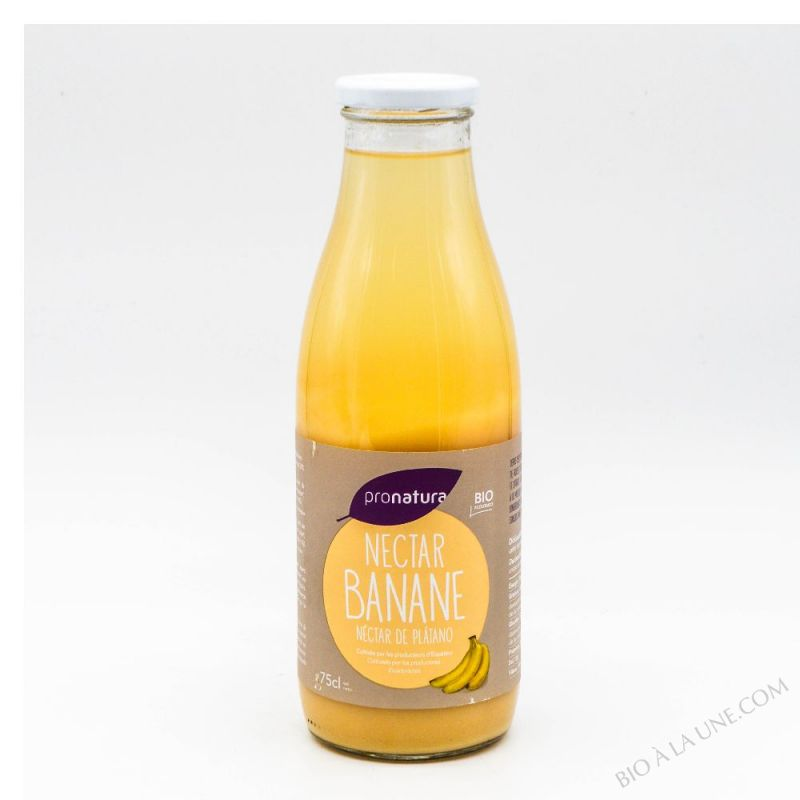 Les jus de producteur -  banane  - 75 cl