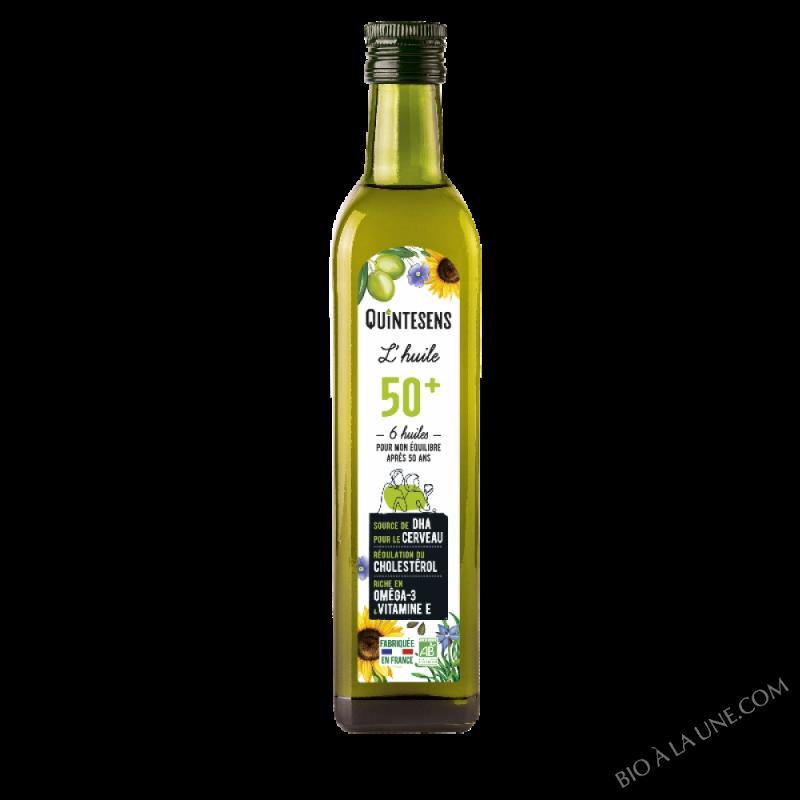 Huile 50 ans et + Bio 50cl