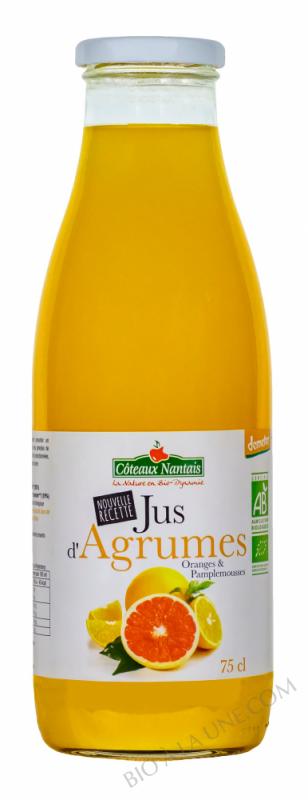 Jus agrumes 75 cl Demeter