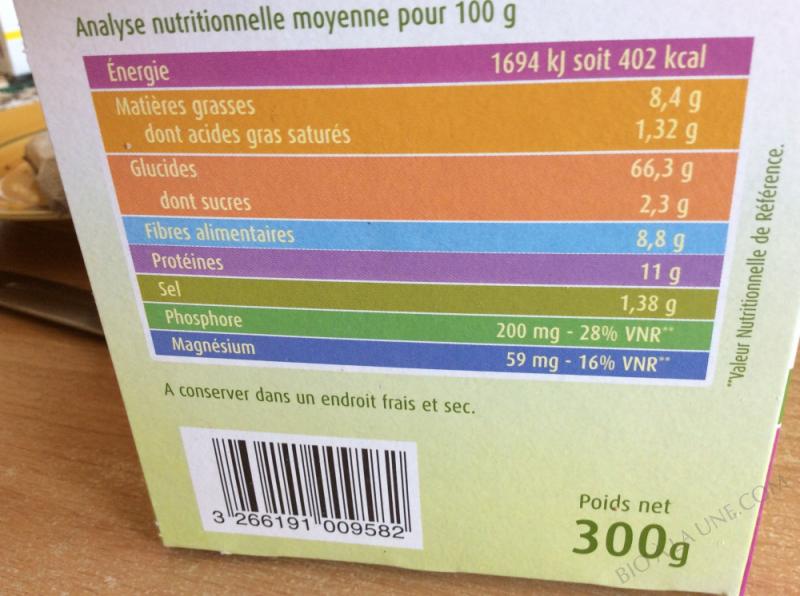 Pain grillé épeautre et graines de lin - 300g