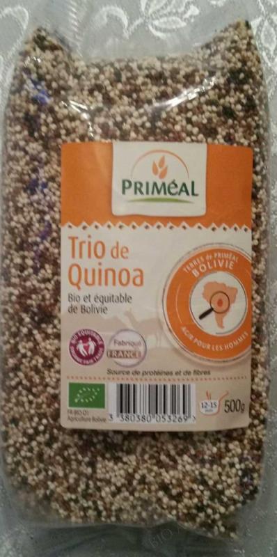 Trio de Quinoa 500 g