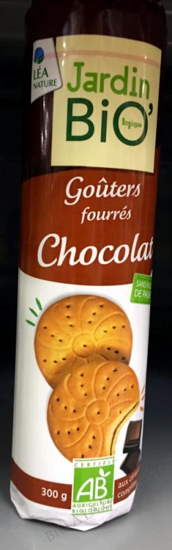 GOÛTERS FOURRES CHOCOLAT 300GR