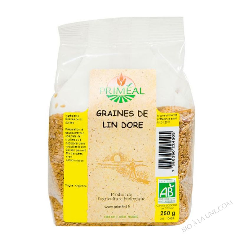 Graines de Lin Dore 250 g