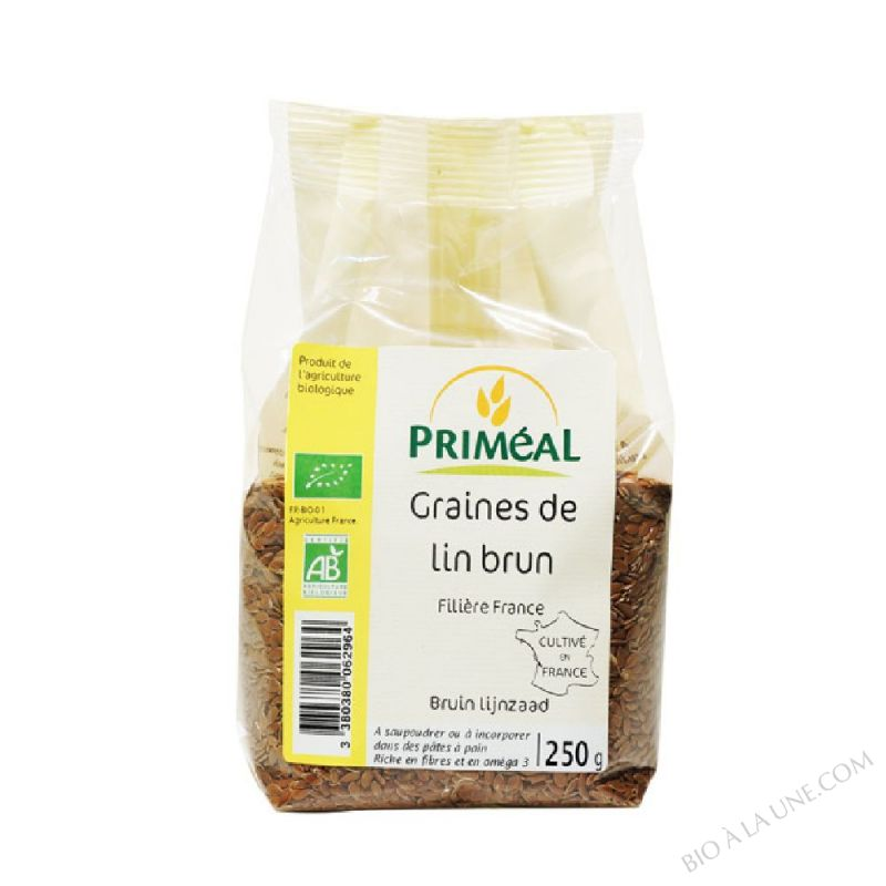 Graines de Lin Brun 250 g