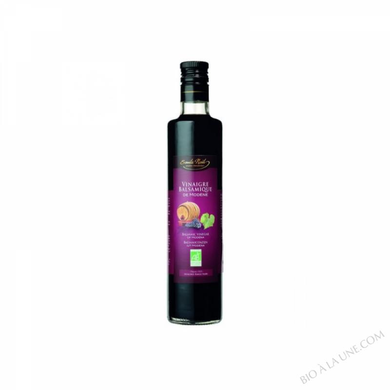Vinaigre balsamique de modène bio 35% de moût de raisin - 250 ml