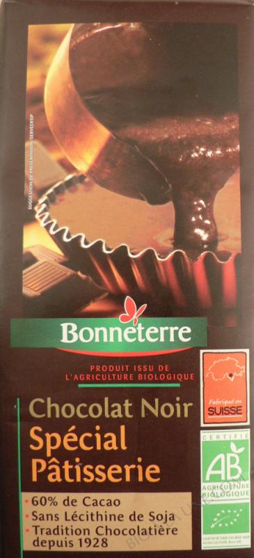 Chocolat noir patisserie 60% cacao 200g