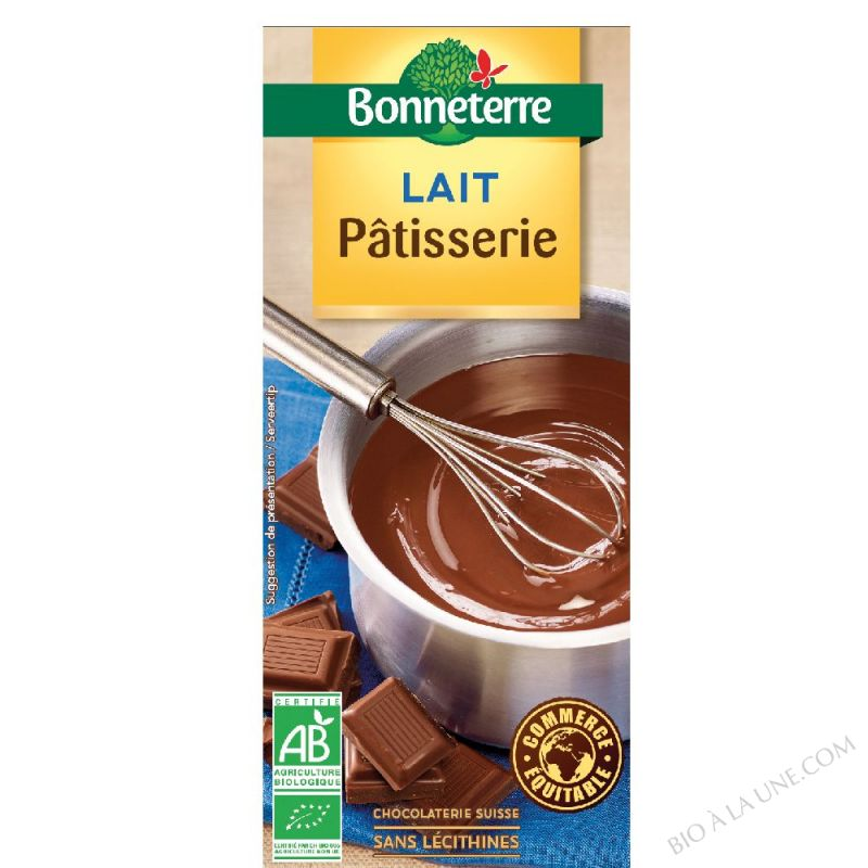 Chocolat Lait Patisserie 200gr