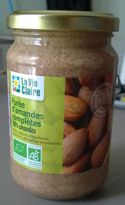 Purée d'Amandes complètes non toastées - 340 g