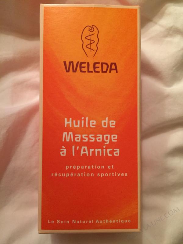 Huile de massage à l'Arnica 50ml