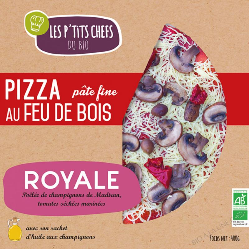 PIZZA ROYALE AU FEU DE BOIS 400 G