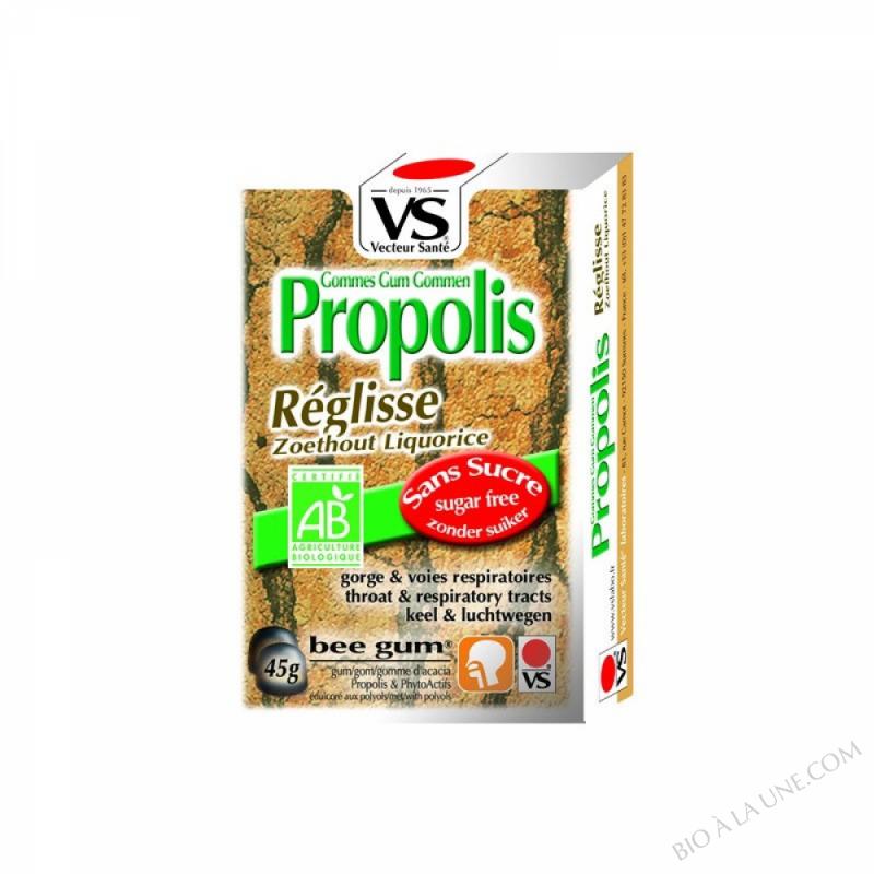 Gommes propolis/reglisse bio 45g
