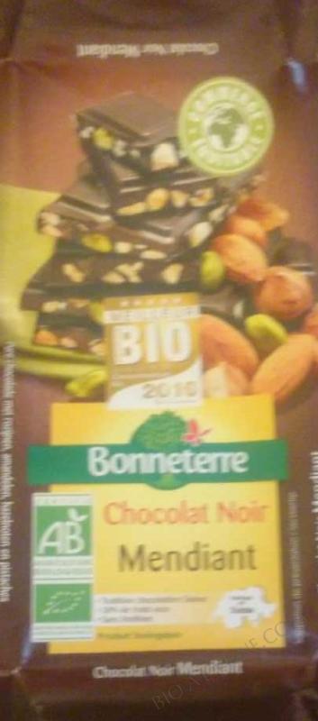 Chocolat Noir Mendiant 100gr