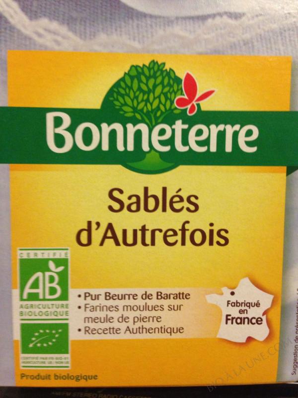 SABLES D'AUTREFOIS (PUR BEURRE) 175GR
