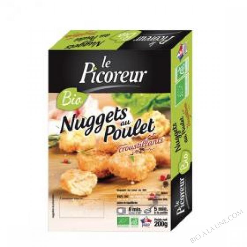 NUGGETS AU POULET - 200 G