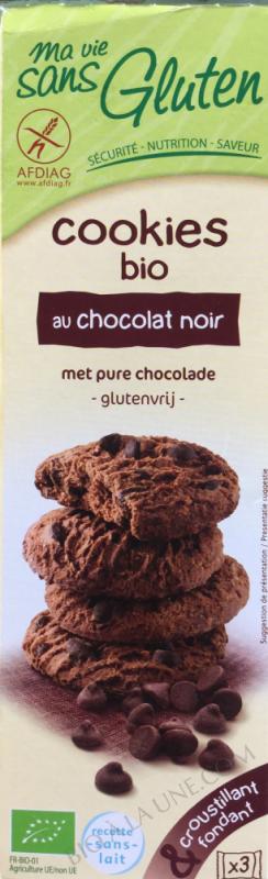 COOKIES AU CHOCOLAT NOIR BIO 150G