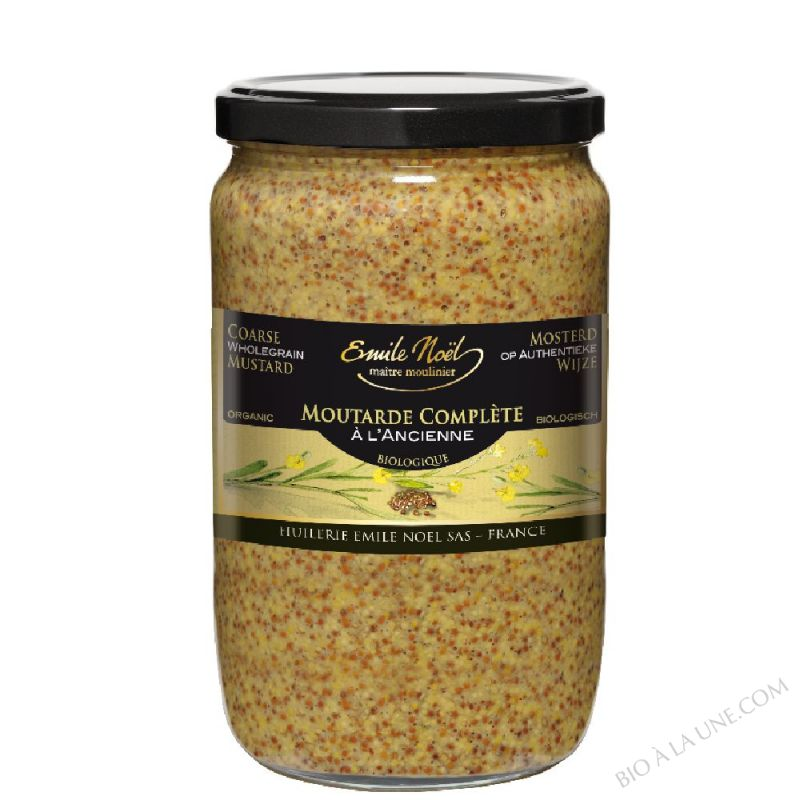 Moutarde à l'ancienne en grains bio - 700g