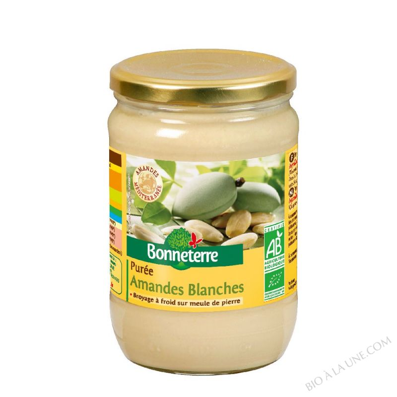 PUREE D'AMANDES BLANCHES- 630 G