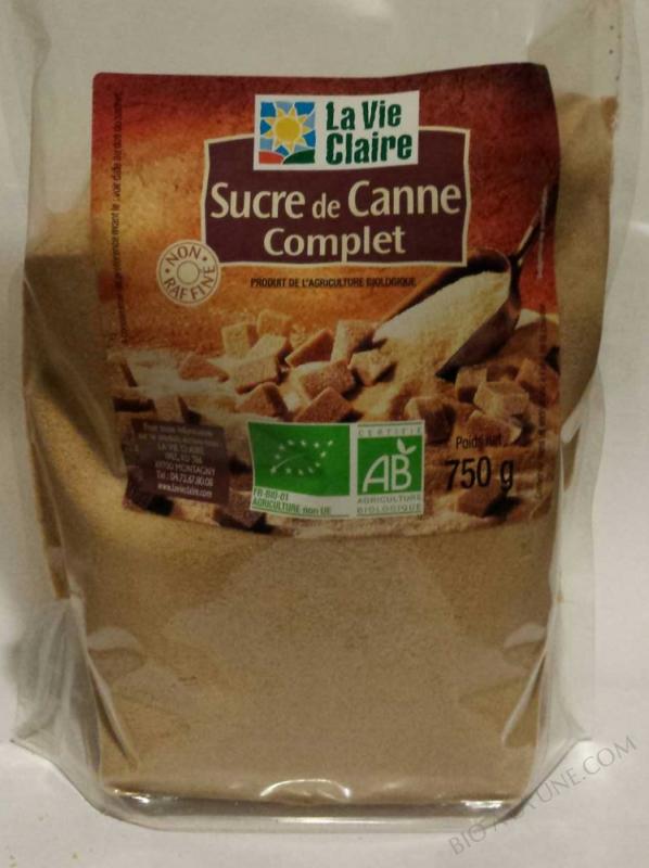 Sucre de canne Complet- 750 g