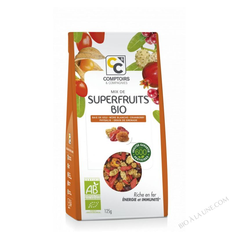 MIX DE SUPERFRUITS BIO 125g - Élu Meilleur Produit Bio 2014