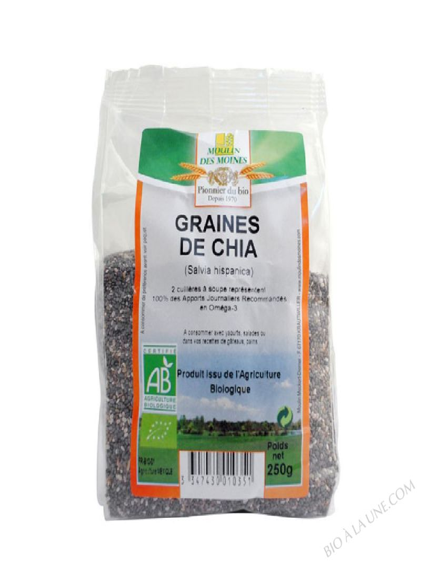 Graines de Chia 250g