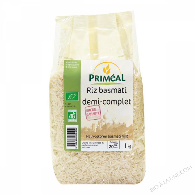 Riz Basmati 1/2 Complet 1 kg