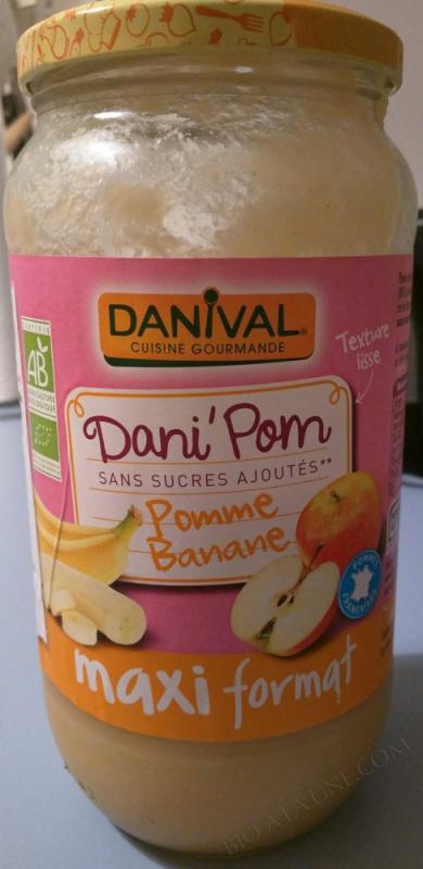 Grand Dani'Pom pommes bananes BIO 1,075kg