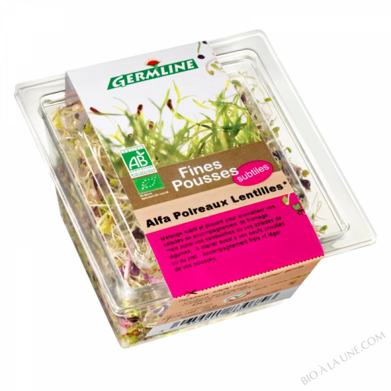 Alfalfa / Poireau / Lentille germés 75g